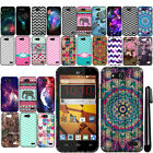 For ZTE Speed N9130 Cute Design TPU SILICONE Rubber Soft Case Phone Cover + Pen