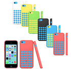 NEW Fashion Luxury Soft Silicone Polka Dot Back Case Cover For iPhone 5C Stylish