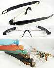 Men women Reading glasses folding portable hanger 360 rotation 1 1.5 2 2.5 3 New