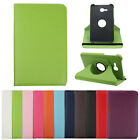 1PC 360 Stand Leather Case Cover For Samsung Galaxy Tab Tablet SM-T110 Tide