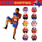 Boxing Shorts Muay Thai Kick MMA Training Sport Trunks Satin M-3XL AU 10 Colour