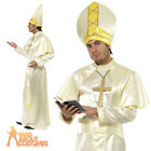 Adult Pope Costume Mens Bishop Cardinal Fancy Dress Priest Outfit