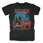 RUSH - MOVING PICTURES TOUR 1981 - OFFICIAL MENS T SHIRT