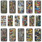 Superhero Comic Book Strips Case Cover for Apple iPhone 4 4S 5 5S 6 Plus - 43