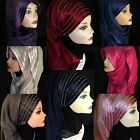 Fashion new style 2015 rhinestones muslim long scarf hijab
