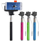 Extendable Handheld Monopod Selfie Stick & 3.5mm Stereo Jack Control for iPhone