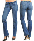 Ladies Women Blue Boot Cut Boot Leg Jeans w/3D wash Size 9 10 11 12 13 14 15 NEW