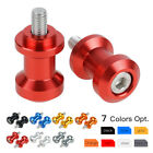 6mm Swingarm Spools For Yamaha R1 R6 Aprilia RSV1000 Triumph Daytona 675 06-08 $7.68 USD on eBay