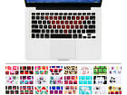 Bat pattern Silicone Keyboard Skin Protector Cover for Macbook Pro Air 13 15 17