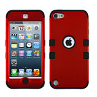 iPod Touch 5th 6th Gen Shockproof Hybrid Hard Case Silicone Rubber Shell Cover