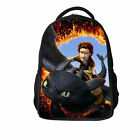 How to Train Your Dragon Toothless Night Fury backpack Kids Cartoon school bags