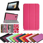 Super Thin PU Leather Shell Cover Stand Case for Verizon Ellipsis 4G LTE Tablet