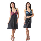 NEW LADIES SATIN NIGHTWEAR WOMENS NIGHTIE BABYDOLL SLEEPWEAR CHEMISE