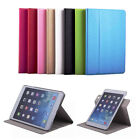 Leather 360 Degree Rotating Ultra Thin Smart Case Cover For iPad Air Mini 1 2 3