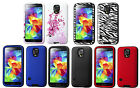 FOR SAMSUNG GALAXY S5 Slim Hybrid Armor Verge Cover Fitted Skin Case
