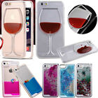 Bling Sparkle Glitter 3D Colorful Moving Liquid Quicksand Case Cover For Phone
