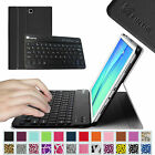 "Slim Bluetooth Keyboard Leather Cover Case for Samsung Galaxy Tab A 9.7"" SM-T550"