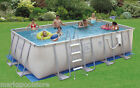 """PROSERIES 48"""" & 52"""" METAL ULTRA FRAME ABOVE GROUND SWIMMING POOL SOFT SIDED"""