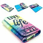 Hot Various Universal Leather Wallet Card Case Cover For Samsung Cell Phones