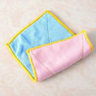 Useful Microfiber Absorbent Washing Dish Bowl Cloth Towel Kitchen Clean Rag