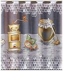 Kitchen Valance Honey Cafe Net Curtain Sold By Meters