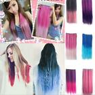Hot Straight Long Hair Extension Women One Piece Clip in Colorful 20 Colors 60cm