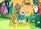 ADVENTURE TIME b PERSONALISED PLACEMAT