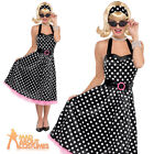 Adult 50s Twist & Shout Costume Ladies Poodle Dress Nifty Fifties Hop Outfit