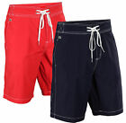 Lacoste Men's Contrast Stitching Croc Board Shorts