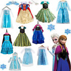 Child Girl Toddler Movie Pixar Frozen Princess Anna / Queen Elsa Dress Costume