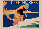 Cleethorpes, Lincolnshire LNER - repro vintage railway travel poster in 4 sizes
