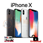 Apple iPhone X 64GB 256GB Space Gray⚫ Silver⚪ Unlocked ✨Face ID Does NOT Work