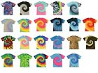 Multi-Color Tie Dye T-Shirts, Adult S M L XL 2XL 3XL 4XL 5XL, 100% Cotton  image