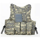 Tactical Military SWAT Airsoft Molle Combat Assault Plate Carrier Vest Gear USA