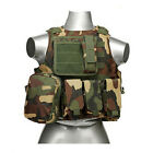 Tactical Military SWAT Police Airsoft Molle Combat Assault Plate Carrier VestChest Rigs & Tactical Vests - 177891