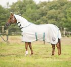HKM - Fly Rug Global Team - Summer Fly Protection/ Sheet/Rug With Neck