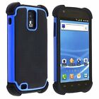 Hybrid Armor Hard + Silicone Case Cover Samsung Galaxy S2 T989 Hercules T-Mobile