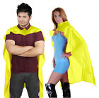 "New Adults Unisex DELUXE SATIN 24"",34"" 48"" CAPES FANCY DRESS in a lot sizes an"