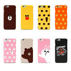 LINE FRIENDS BROWN & CONY Character Graphic Case Cover For Apple iPhone 6 / 6S
