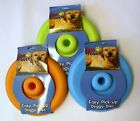Dog Teething Pet Flying Disk Doggy Disc Saucer Frisbee Easy Pick Up Puppy Toy