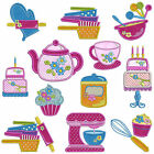 IN THE KITCHEN * Machine Applique Embroidery Patterns * 12 designs,  2 sizes