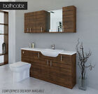 OLIVEWOOD BATHROOM FITTED FURNITURE 1700MM WITH WALL