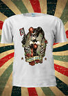 Disney Princess Harley Quinn Joker Wild T Shirt Vest Top Men Women Unisex 140