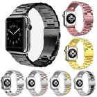 Stainless Steel Strap Classic Buckle Watch Bands for Watch iWatch 38/42mm image