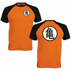 Goku's Training Symbol Baseball T-Shirt - Dragon Ball Inspired Mens Fan Gift Top