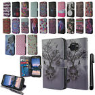 For Samsung Galaxy S6 Active G890 Flip Wallet LEATHER Skin POUCH Case Cover +Pen