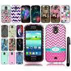 For Samsung Galaxy S Relay 4G T699 Design PATTERN HARD Case Phone Cover + Pen