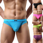 Mens Cotton Boxer Shorts Y Front Penis 85%Polyamide+15%Spandex Size S M L XL HOT