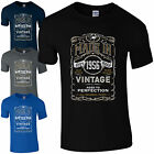 Made in 1956 T-Shirt Born 61st Year Birthday Age Present Vintage Funny Mens Gift