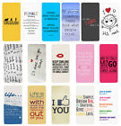Sayings Quotes Flip Case Cover for Samsung S3 S4 S5 S6 - 34